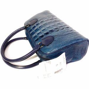 💯 Authentic Vintage CASADEI Crocodile Bag